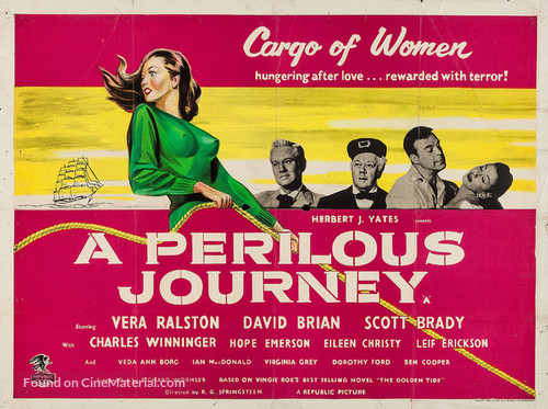 A Perilous Journey - British Movie Poster