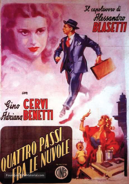 4 passi fra le nuvole - Italian Movie Poster