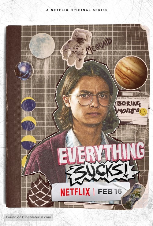 """Everything Sucks!"" - Movie Poster"