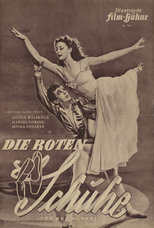 The Red Shoes - German poster