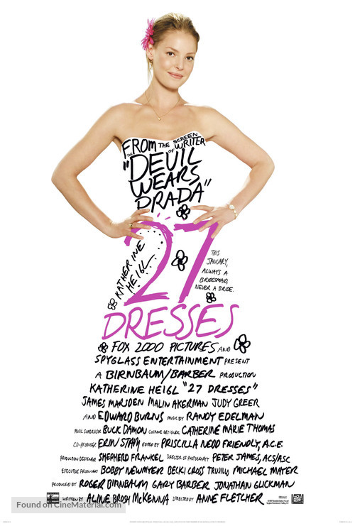 27 Dresses - Movie Poster