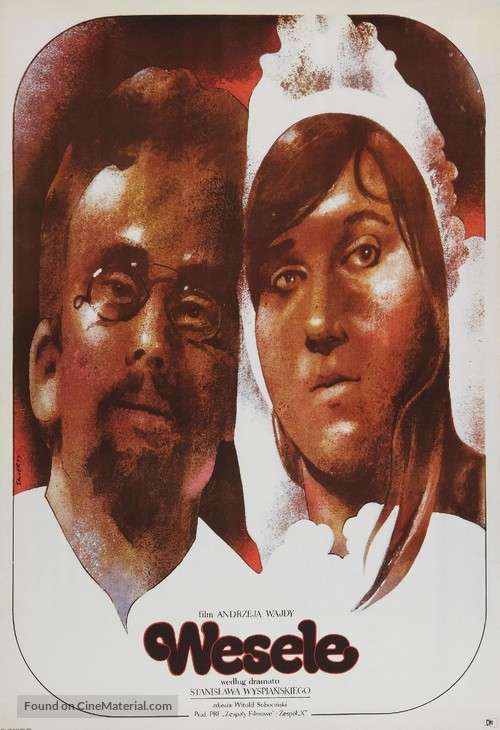 Wesele - Polish Movie Poster