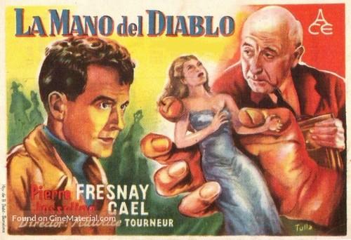 La main du diable - Spanish Movie Poster