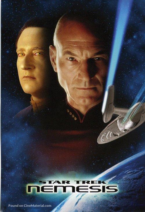 Star Trek: Nemesis - DVD cover