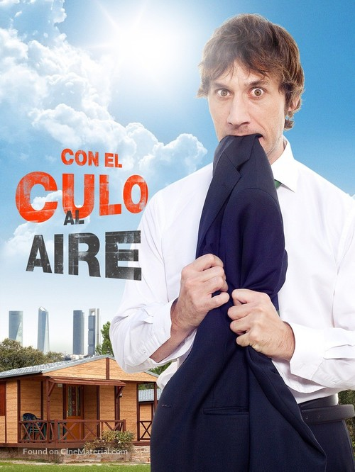 """Con el culo al aire"" - Spanish Movie Poster"