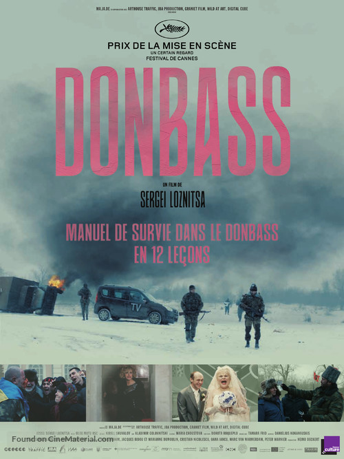 Donbass - French Movie Poster