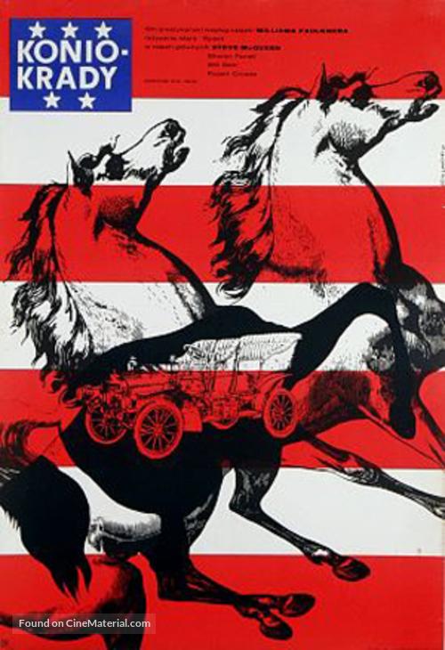 The Reivers - Polish Movie Poster