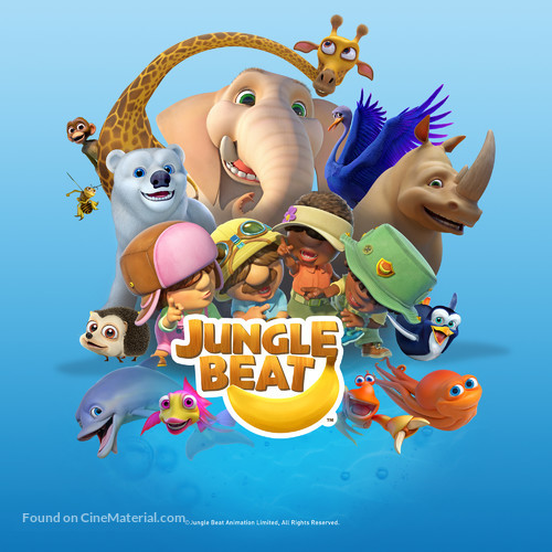 """""""Jungle Beat"""" - South African Movie Poster"""