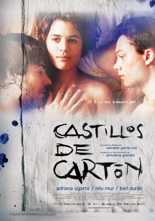 Castillos de cartón - Spanish Movie Poster