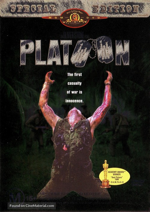 Platoon - DVD cover