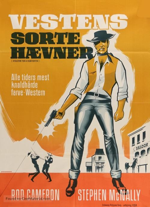 Requiem for a Gunfighter - Danish Movie Poster