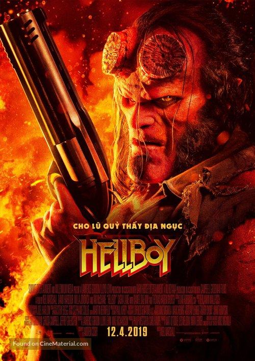 Hellboy - Vietnamese Movie Poster