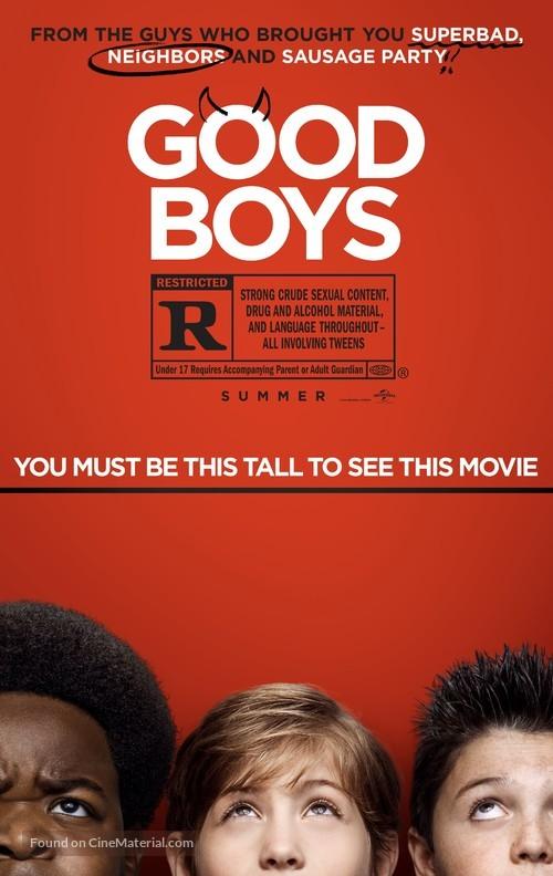 Good Boys - Movie Poster