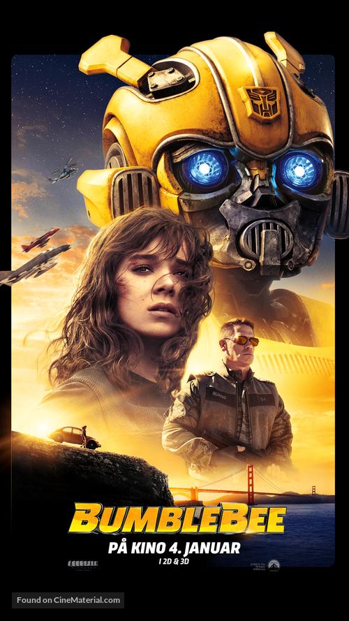 Bumblebee - Norwegian Movie Poster