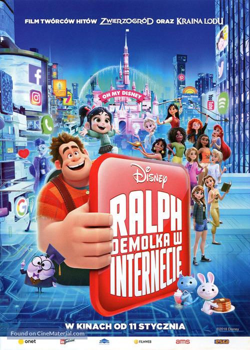 Ralph Breaks the Internet - Polish Movie Poster