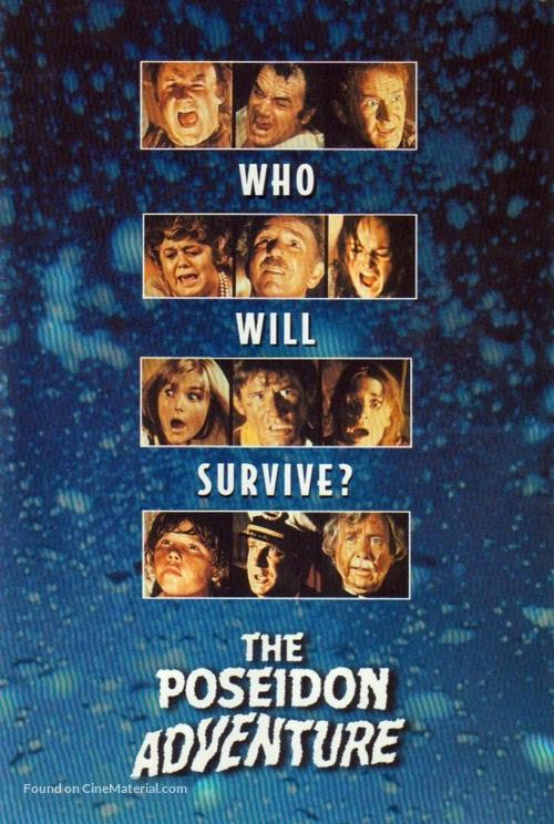 The Poseidon Adventure 1972 Dvd Movie Cover