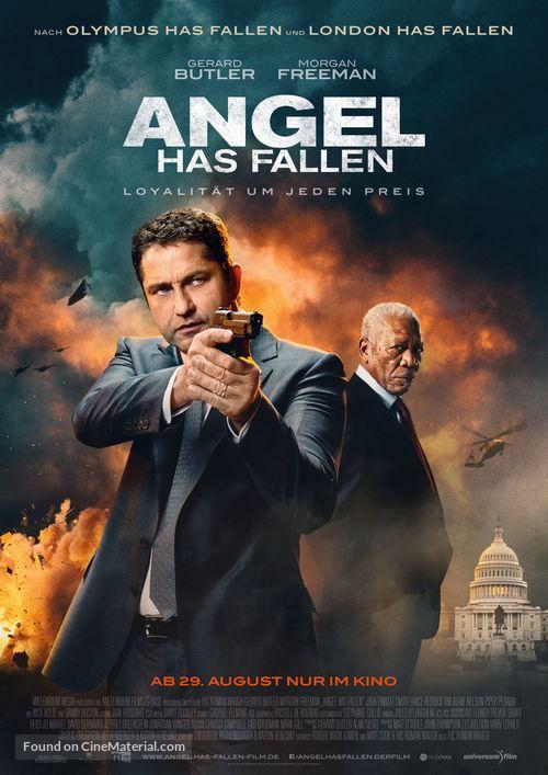Angel Has Fallen - German Movie Poster