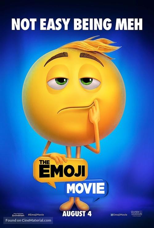 The Emoji Movie - British Movie Poster