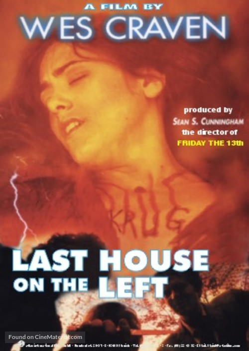 The Last House on the Left - DVD cover