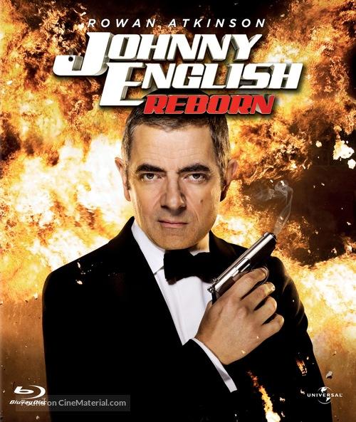 Johnny English Reborn - Blu-Ray cover