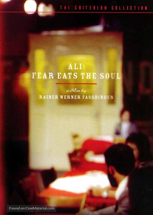 Angst essen Seele auf - DVD movie cover