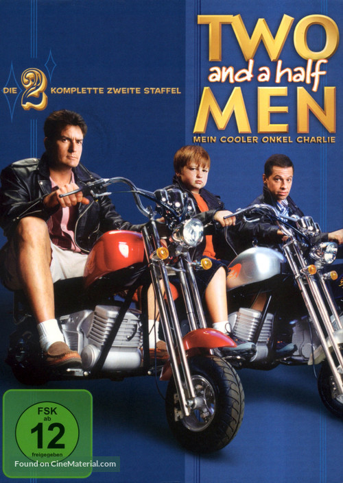 """""""Two and a Half Men"""" - German DVD movie cover"""
