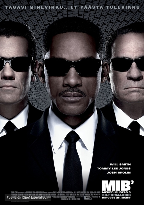 Men in Black 3 - Estonian Movie Poster