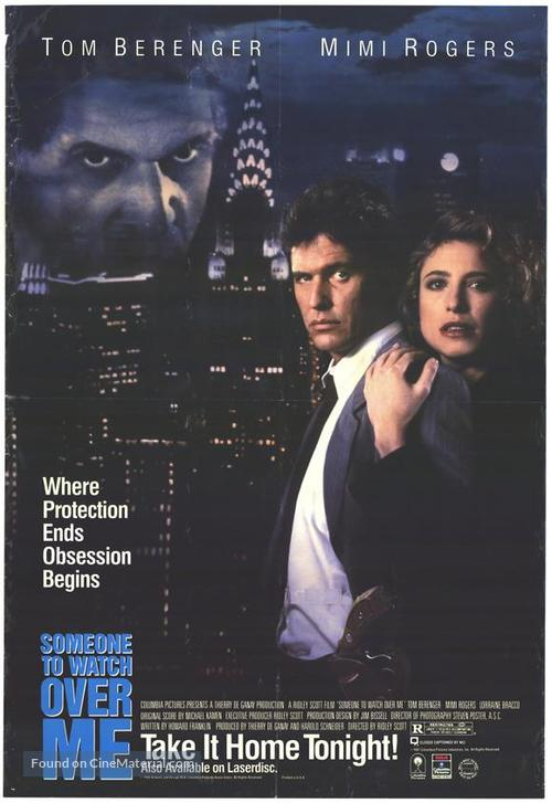 Someone to Watch Over Me - Movie Poster