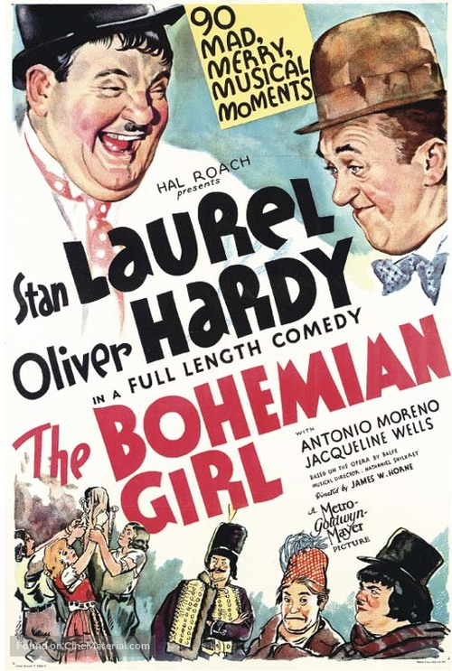 The Bohemian Girl - Movie Poster