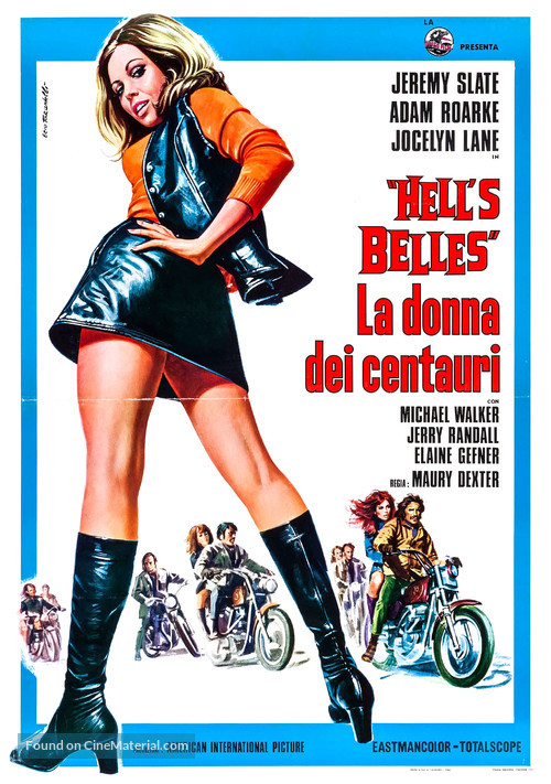 Hell's Belles - Italian Movie Poster