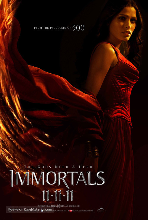Immortals - Canadian Movie Poster