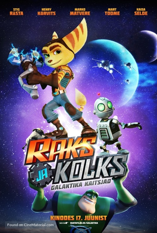 Ratchet and Clank - Estonian Movie Poster