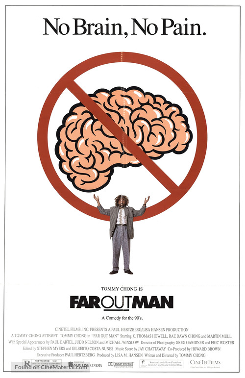 Far Out Man - Movie Poster
