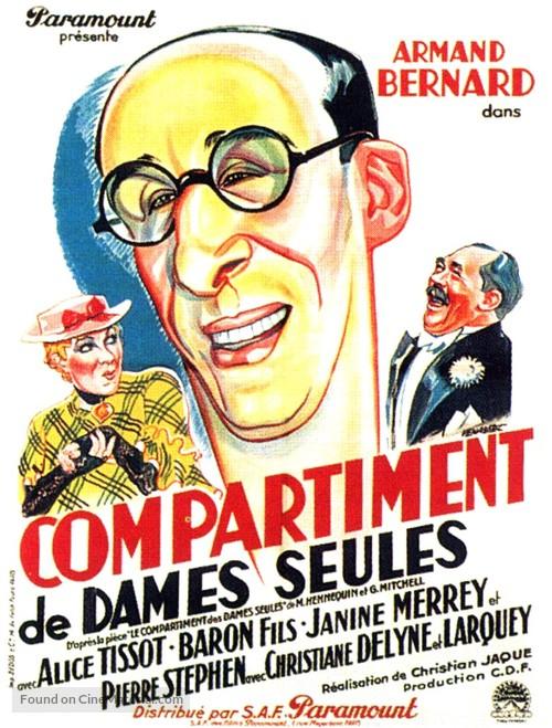 Compartiment de dames seules - French Movie Poster