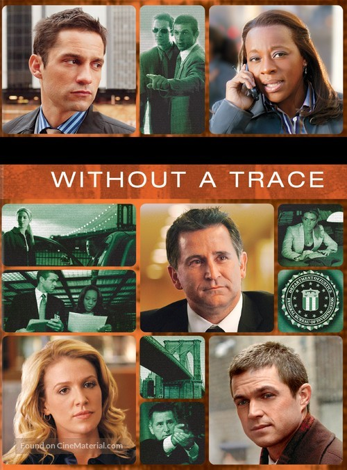 """Without a Trace"" - DVD cover"