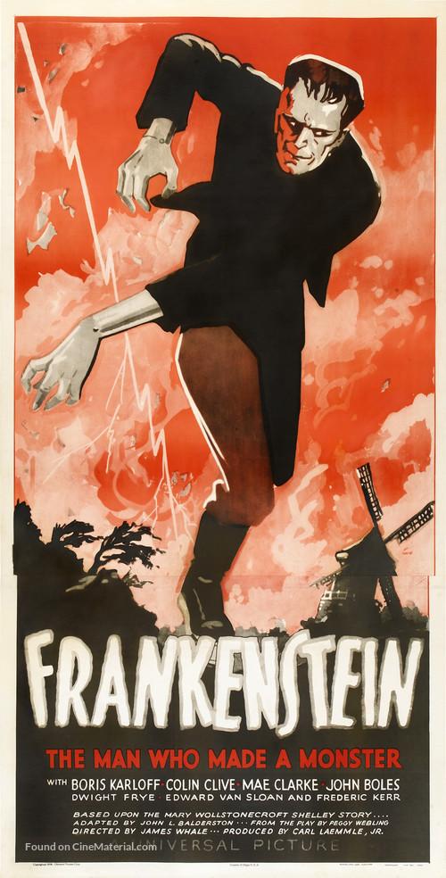 Frankenstein - Movie Poster