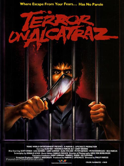 Terror on Alcatraz - Movie Poster