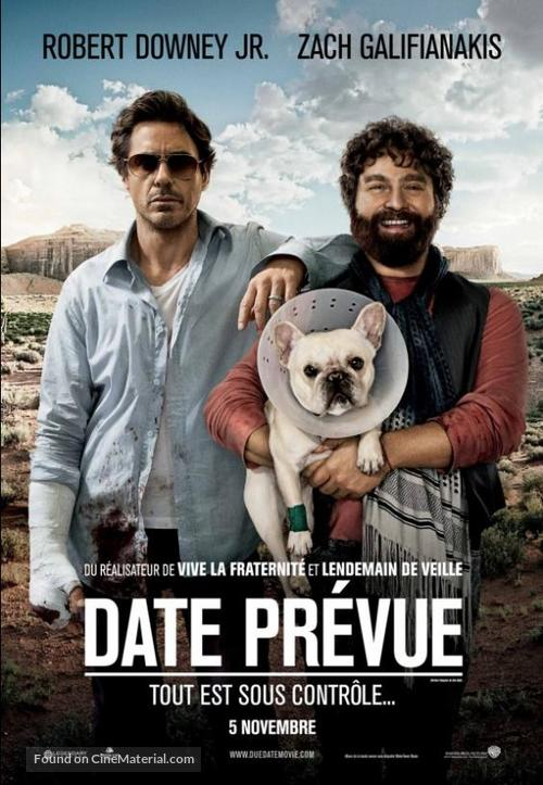 Due Date - Canadian Movie Poster