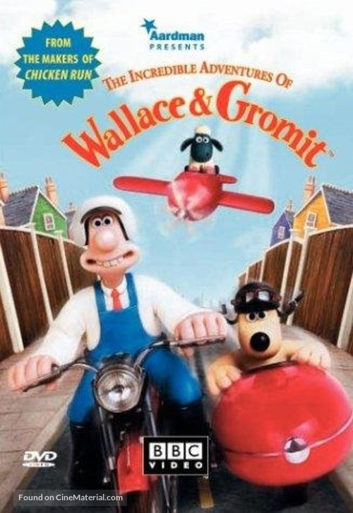 Wallace & Gromit: The Best of Aardman Animation - DVD cover