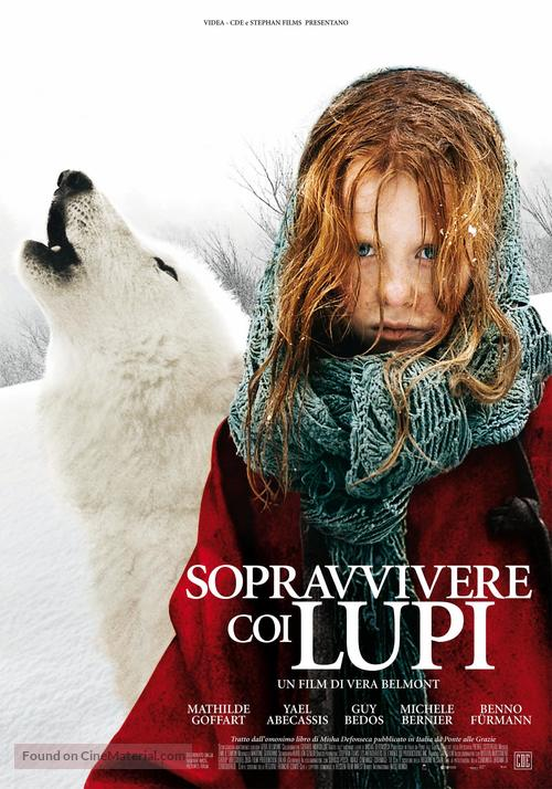 Survivre avec les loups - Italian poster