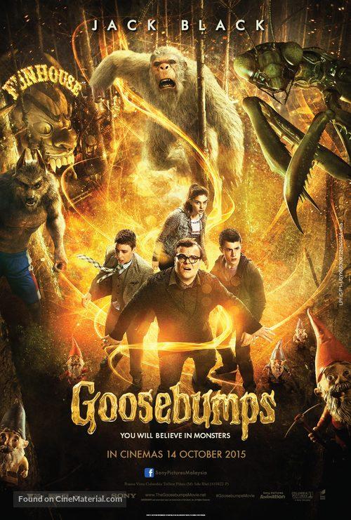 Goosebumps - Malaysian Movie Poster