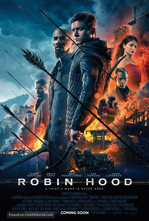 Robin Hood - British Movie Poster