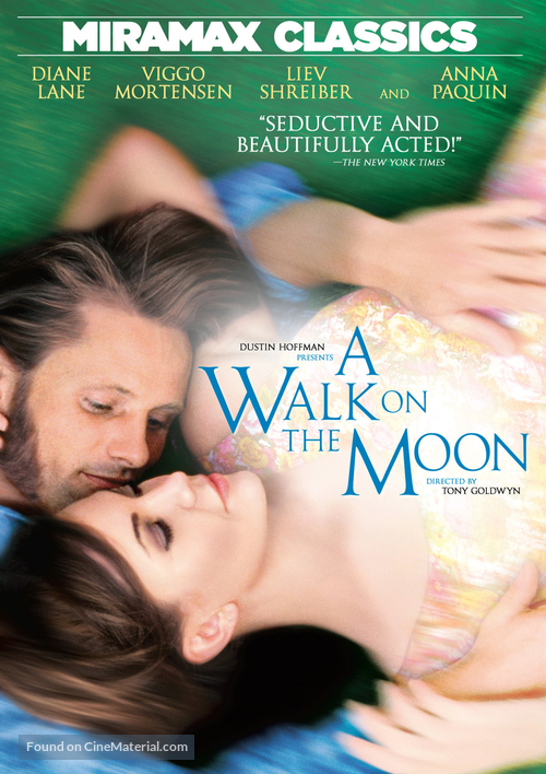 A Walk on the Moon - DVD cover