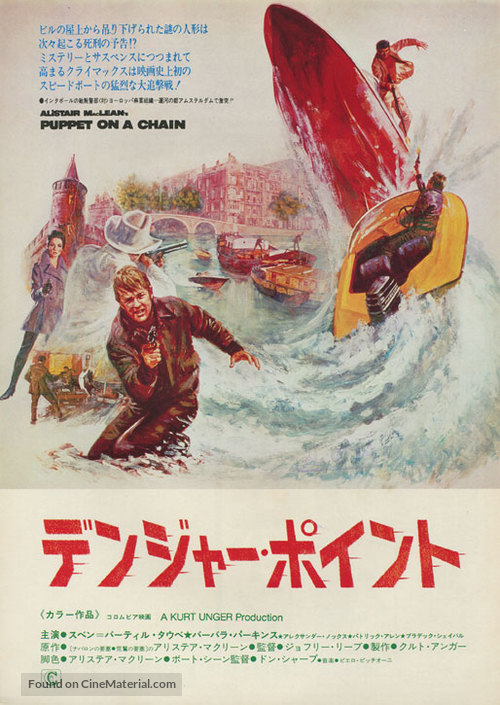 Puppet on a Chain - Japanese Movie Poster