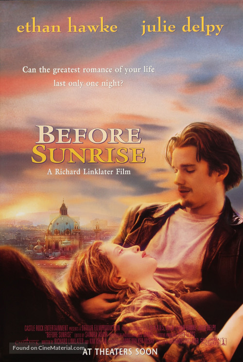 Before Sunrise - Movie Poster
