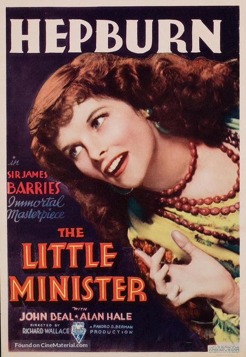 The Little Minister - Movie Poster