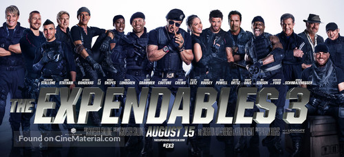 The Expendables 3 - Movie Poster