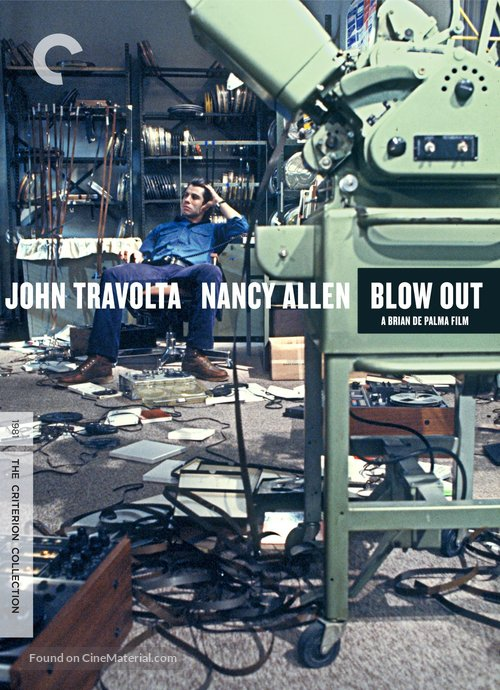 Blow Out - DVD movie cover