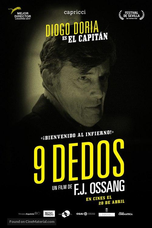 9 doigts - Spanish Movie Poster