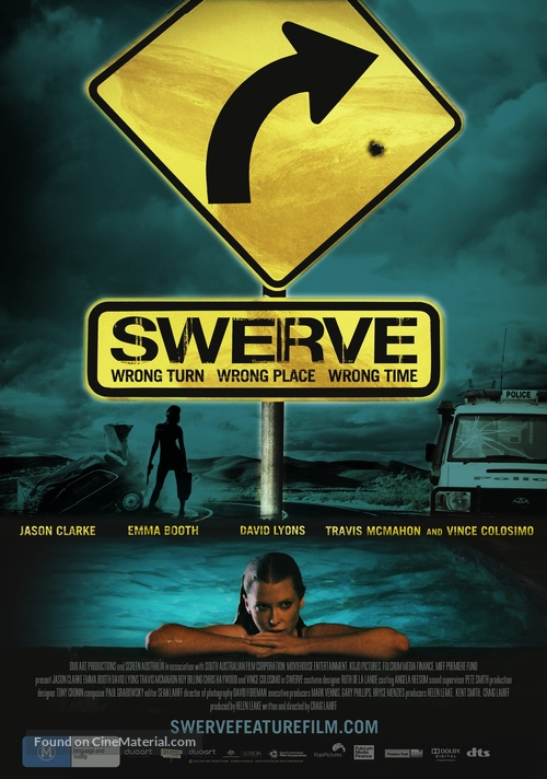 Swerve - Australian Movie Poster